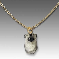 Wolf Timber Tiny One Head Pendant