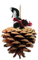 Skunk Pinecone Pet Ornament