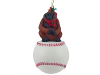 Orangutan Baseball Ornament