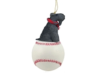 Kerry Blue Terrier Baseball Ornament
