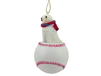 Komondor Baseball Ornament