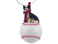 Welsh Corgi Cardigan Baseball Ornament
