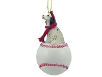 English Setter Belton Blue Baseball Ornament