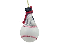 Landseer Baseball Ornament