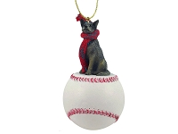 Australian Cattle BlueDog Baseball Ornament