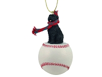 Bouvier des Flandres Baseball Ornament