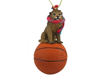 Lion Basketball Ornament