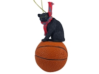 Panther Basketball Ornament