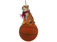 Tiger Basketball Ornament