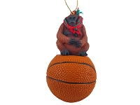 Orangutan Basketball Ornament