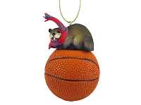 Beaver Basketball Ornament
