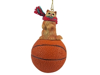 Red Persian Basketball Ornament