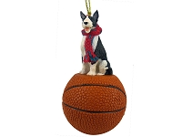 Bull Terrier Brindle Basketball Ornament