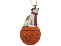 Jack Russell Terrier Brown & White w/Smooth Coat Basketball Ornament