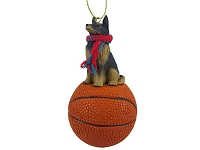 Belgian Tervuren Basketball Ornament