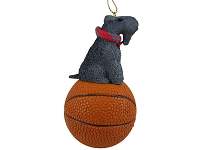 Kerry Blue Terrier Basketball Ornament