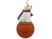 Clumber Spaniel Basketball Ornament