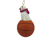 Komondor Basketball Ornament