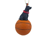 Cocker Spaniel English Black Basketball Ornament