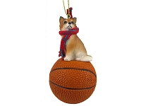 Chihuahua Longhaired Basketball Ornament