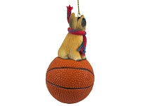 Briard Basketball Ornament