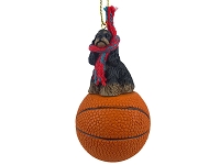 Cocker Spaniel Black & Tan Basketball Ornament