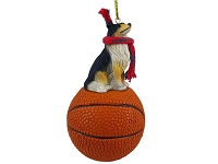 Collie Tricolor Basketball Ornament