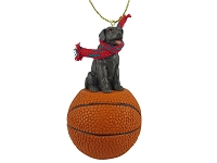 Labrador Retriever Chocolate Basketball Ornament