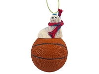Maltese Basketball Ornament