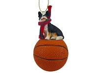 Welsh Corgi Cardigan Basketball Ornament