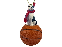 Pit Bull Terrier Brindle Basketball Ornament