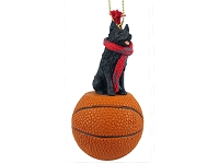Schipperke Basketball Ornament