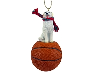Kuvasz Basketball Ornament