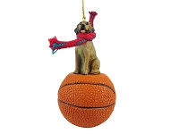 Rhodesian Ridgeback Basketball Ornament