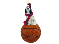 English Setter Belton Blue Basketball Ornament