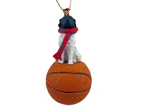 Landseer Basketball Ornament