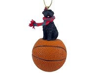 Bouvier des Flandres Basketball Ornament
