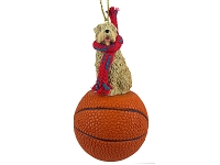 Soft Coated Wheaten Terrier Basketball Ornament