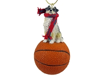 Australian Shepherd Blue Basketball Ornament