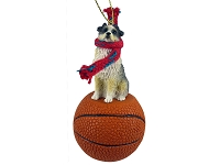 Australian Shepherd Blue w/Docked Tail Basketball Ornament