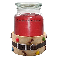 Candle Cradle Dog