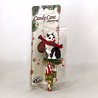 Ornament Candy Cane Cats