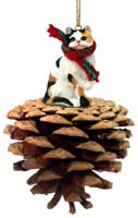 Calico Shorthaired Pinecone Pet Ornament