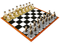 Sheltie Chess Set (Pieces Only)