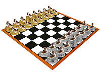 Basset Hound Chess Set (Pieces Only)