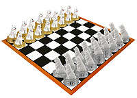 American Eskimo Chess Set (Pieces Only)