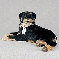 Rottweiler My Dog Fur Figurine