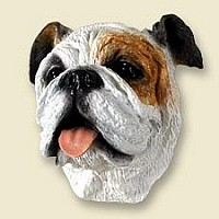 Bulldog White Doogie Head