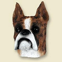 Boxer Brindle Doogie Head