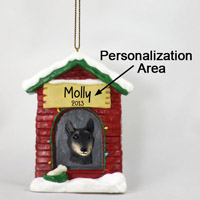 Belgian Tervuren House Ornament (Personalize-It-Yourself)